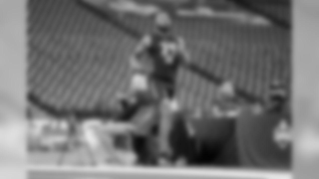 CB Marshon Lattimore ran a 4.36 40-yard dash.