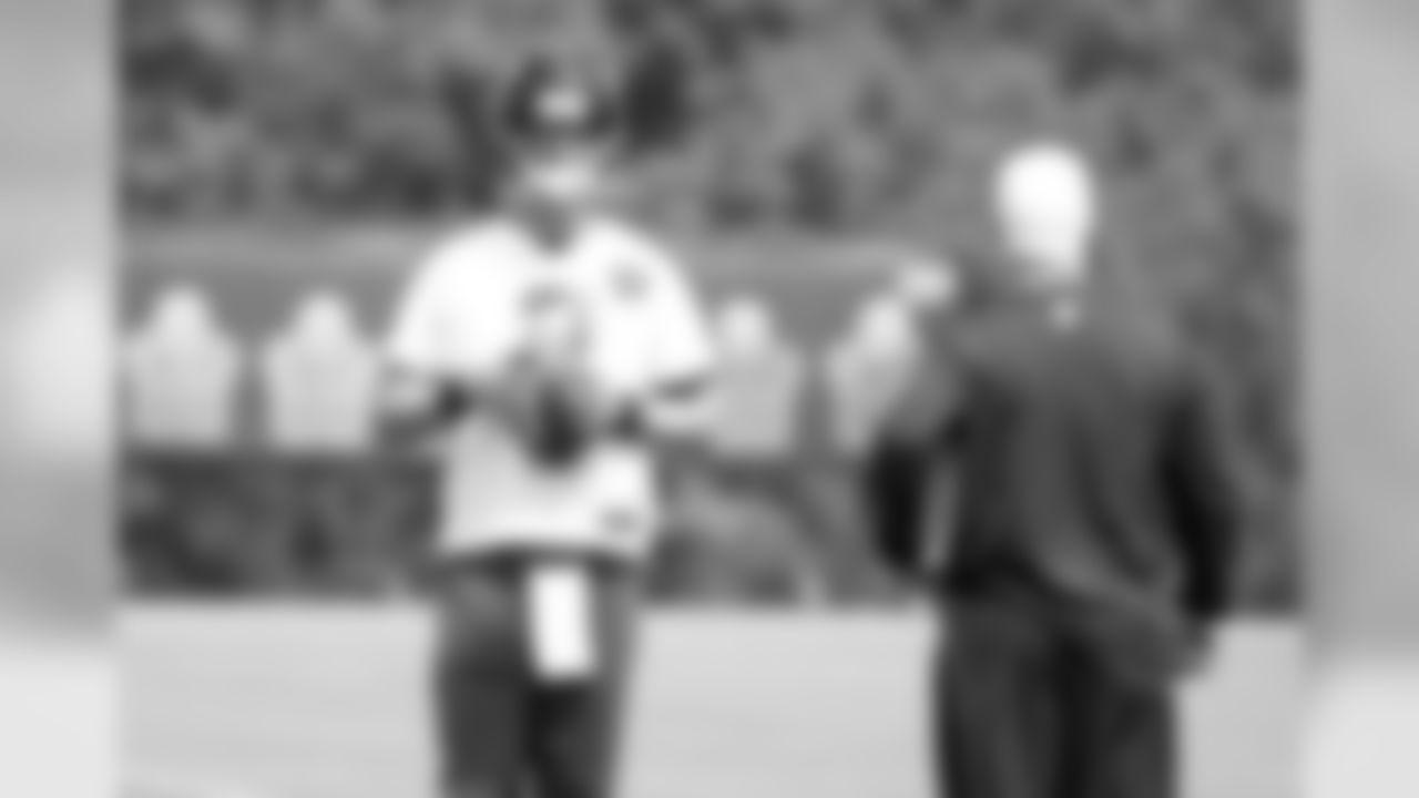 QB Matt Ryan and head coach Mike Smith