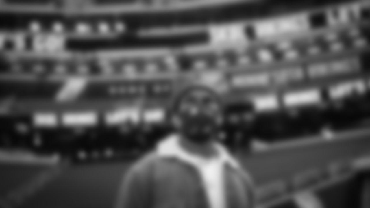 Atlanta Falcons wide receiver Julio Jones #11 arrives to face the Minnesota Vikings on October 18, 2020. (Photo by Austin Hittel/Atlanta Falcons)