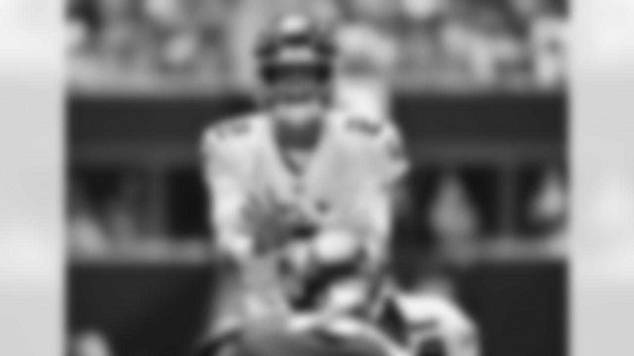 Atlanta Falcons quarterback Matt Ryan #2 prepares to take a snap during the first quarter against the Philadelphia Eagles at Mercedes-Benz Stadium in Atlanta, Georgia on Sunday, September 12, 2021. (Photo by Brandon Magnus/Atlanta Falcons)