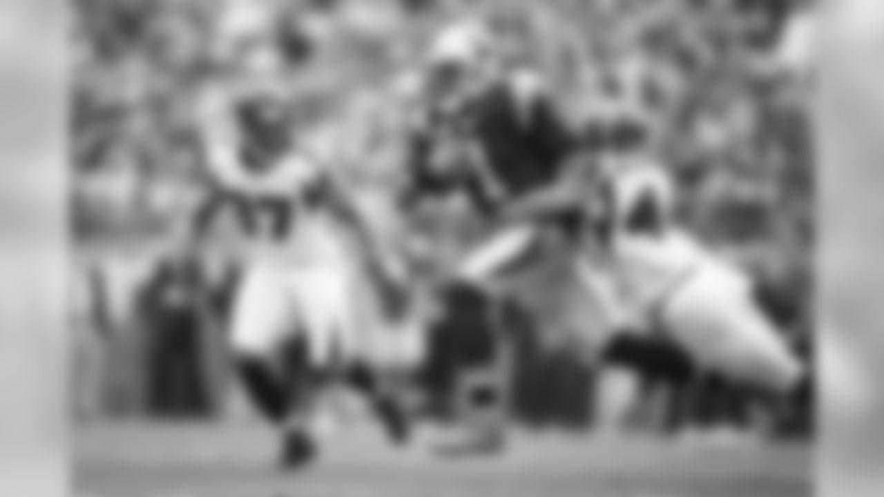 OLB Vic Beasley, Jr. Regular Season Sacks: 15.5 (NFL Leader)