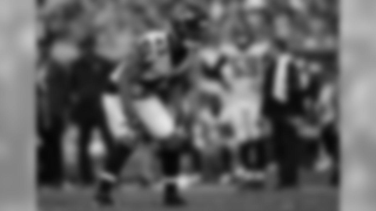 Atlanta Falcons cornerback Jamar Taylor #43 looks on at Raymond James Stadium in Tampa, FL, on Sunday December 29, 2019. (Photo by Mark Brown/Atlanta Falcons)