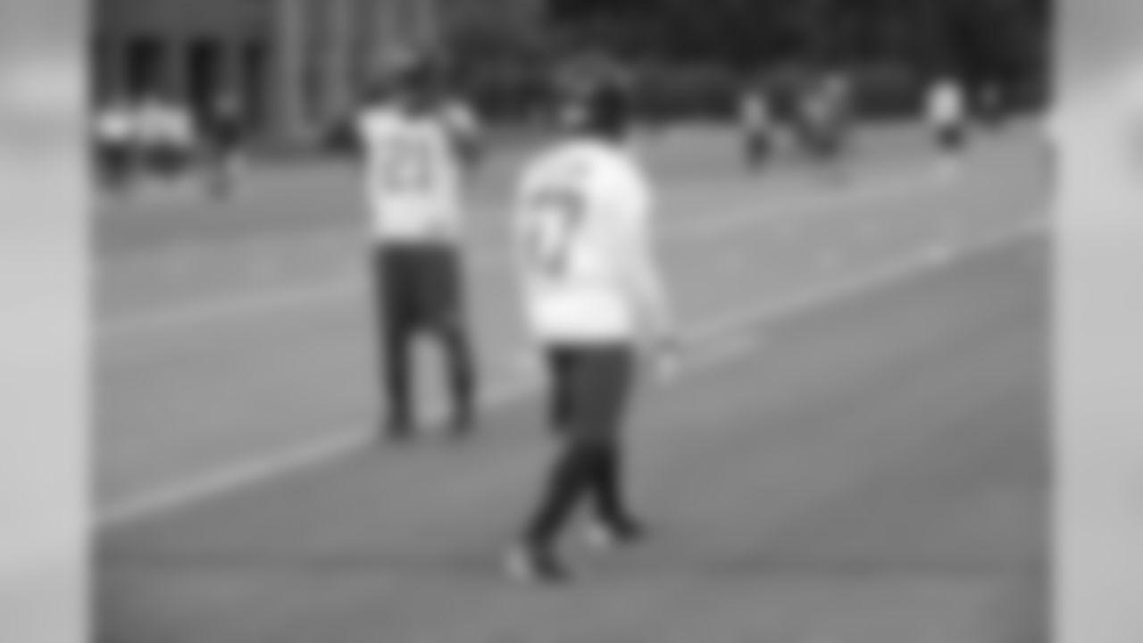 CBs Desmond Trufant, left, and Robert McClain