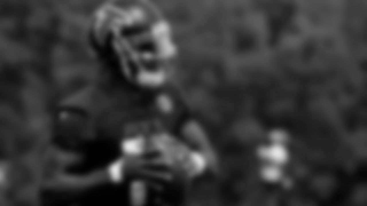 Atlanta Falcons wide receiver Julio Jones #11 in action during practice at IBM Performance Field. (Photo by Kara Durrette/Atlanta Falcons)