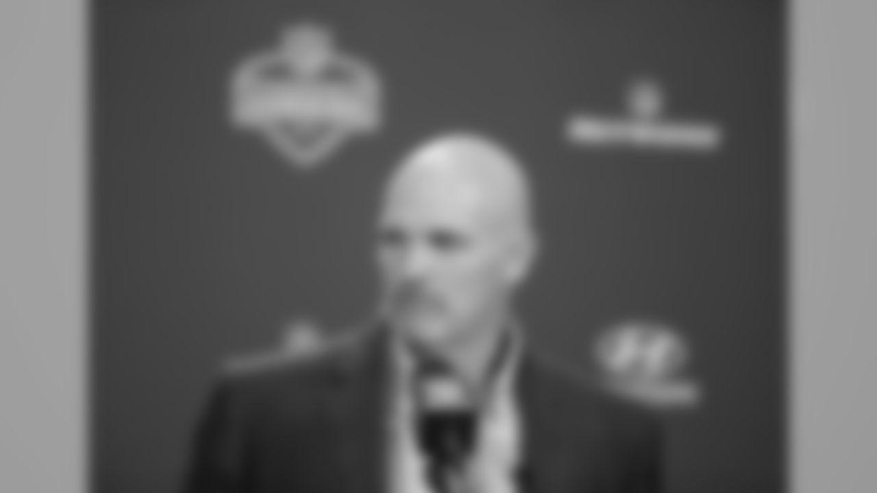 Atlanta Falcons head coach Dan Quinn