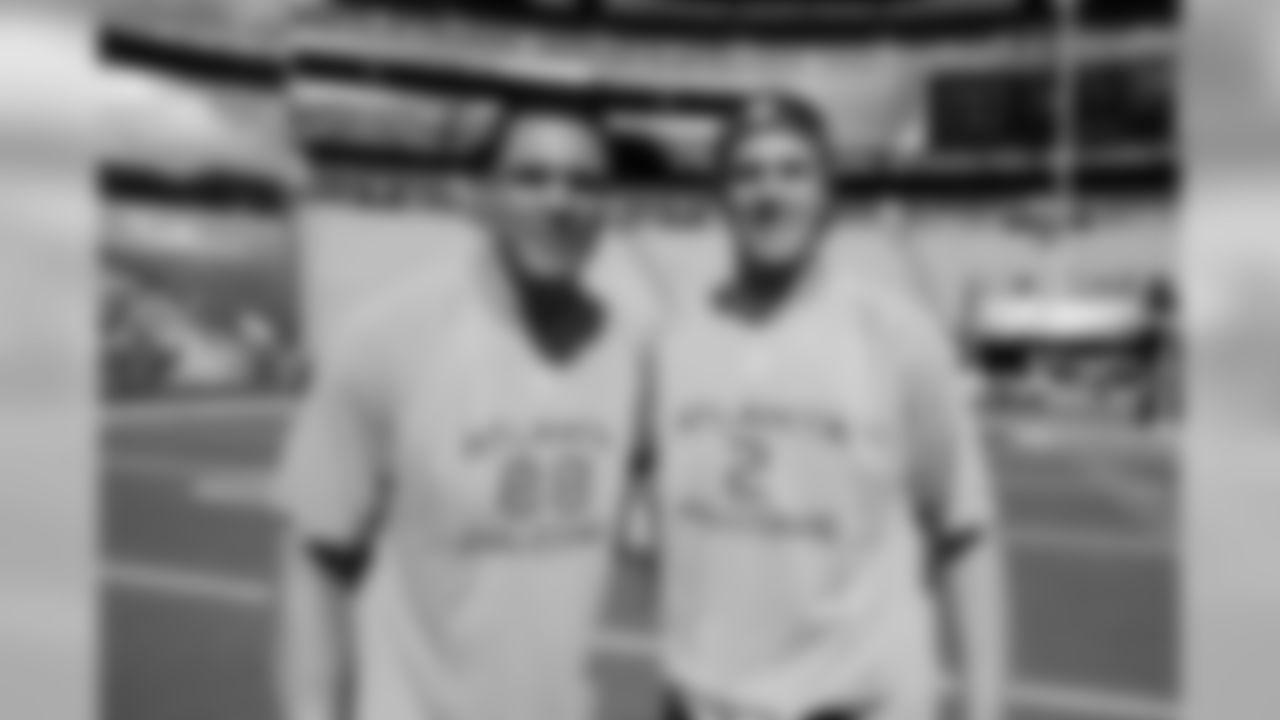 TE Tony Gonzalez and QB Matt Ryan, 2011 Pro Bowl