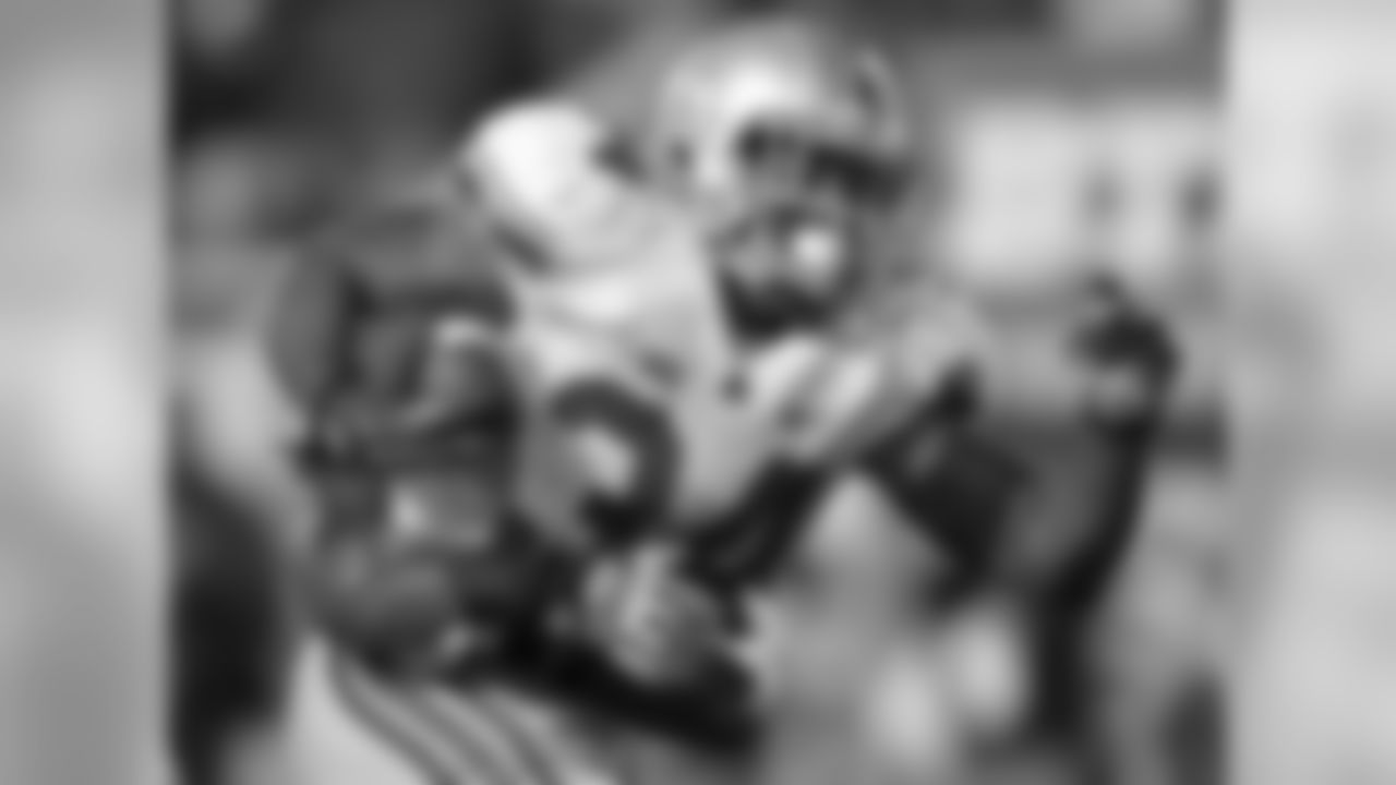 Despite missing three games to begin 2013, Hyde finished the year with 1,521 rushing yards and 15 touchdowns.