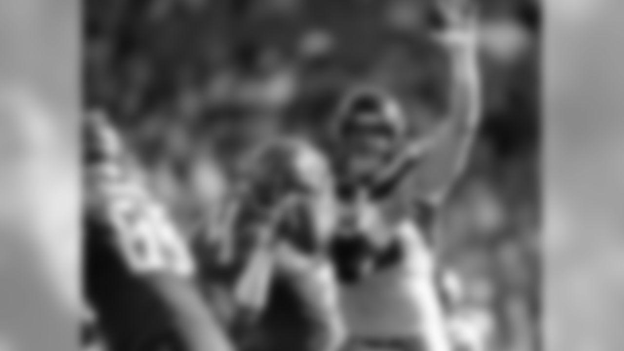 Atlanta Falcons defensive end John Cominsky #50 in action against the Tampa Bay Buccaneers at Raymond James Stadium in Tampa, FL, on Sunday December 29, 2019. (Photo by Mark Brown/Atlanta Falcons) (Photo by Adler Garfield/Atlanta Falcons)