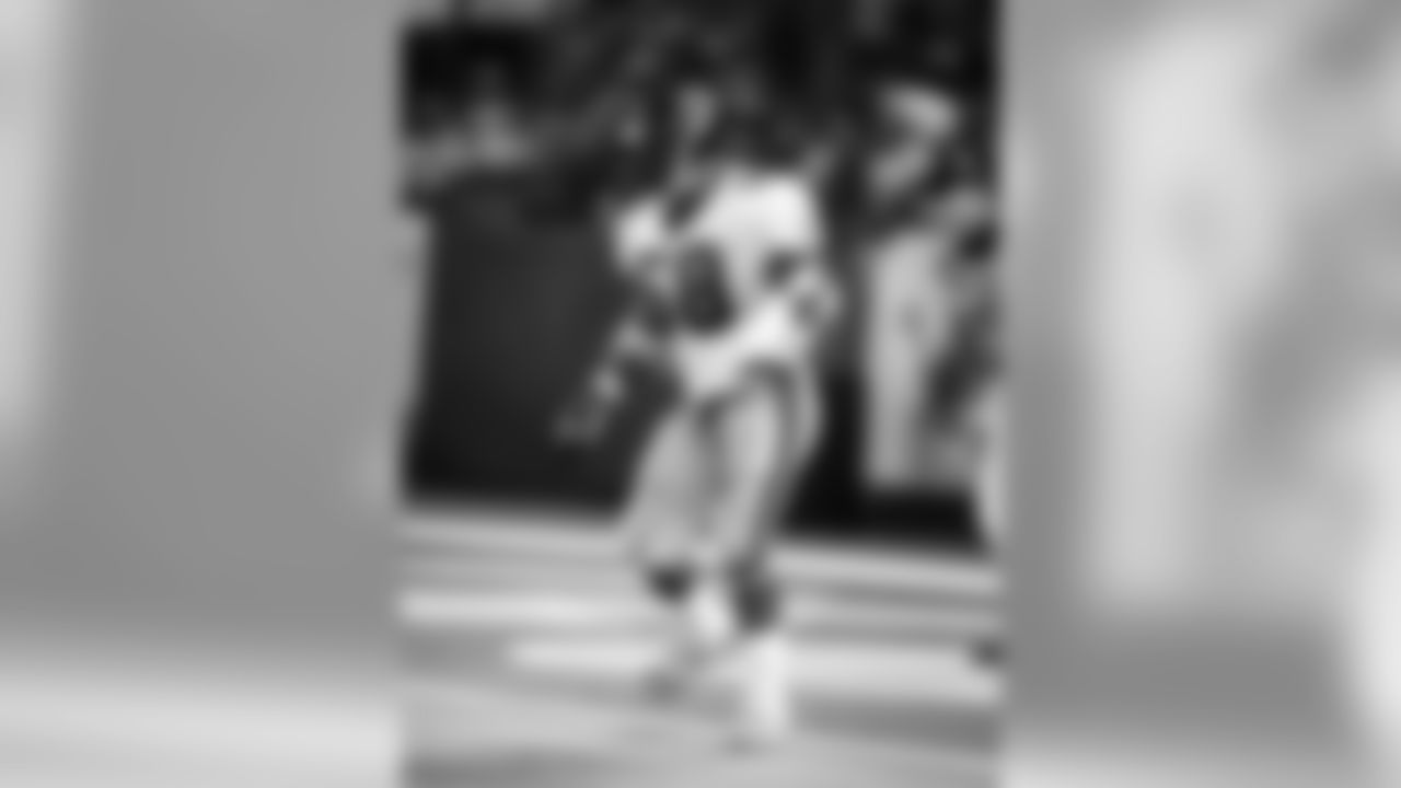 In Tuggle's 14 seasons, he recorded 1640 tackles (164 assisted)