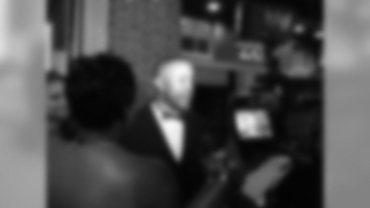 Former Falcons DB Brian Jordan talks to the media // Deion Sanders Red & Black Gala - Red Carpet // July 16, 2011 // Atlanta -