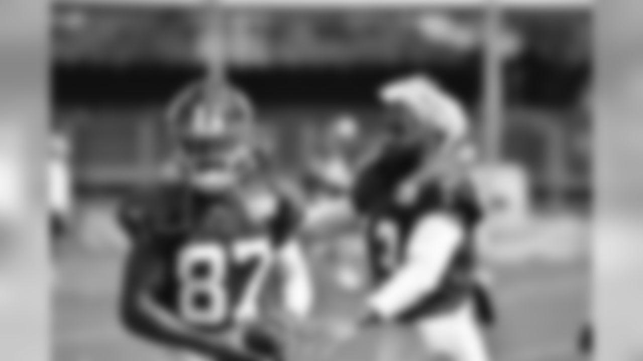 WR's Odell Beckham Jr. and Sterling Shepard