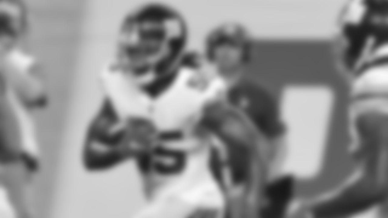 """LB RAY-RAY ARMSTRONG  After grabbing an interception in last week's game against the Lions, Armstrong was bumped up to the first-team nickel defense at practice this week.""""As a linebacker, he's long and he can cover,"""" Shurmur said. """"He's what linebackers should look like and he's made progress. We feel like he's done some really good things as we work through training camp, so it was good to see him have some success."""""""