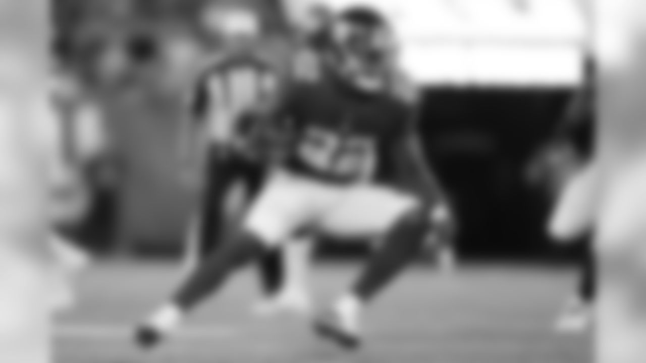"""RB WAYNE GALLMAN  With Saquon Barkley sidelined with a hamstring injury, Gallman saw increased reps this week in the joint practices leading up to Friday's game vs. Detroit. The second-year pro is looking to build off a preseason opener in which he led the team in receptions. This week, coach Pat Shurmur said he is """"gaining an appreciation for what [Gallman] is as a runner, a pass catcher, and a blocker."""""""