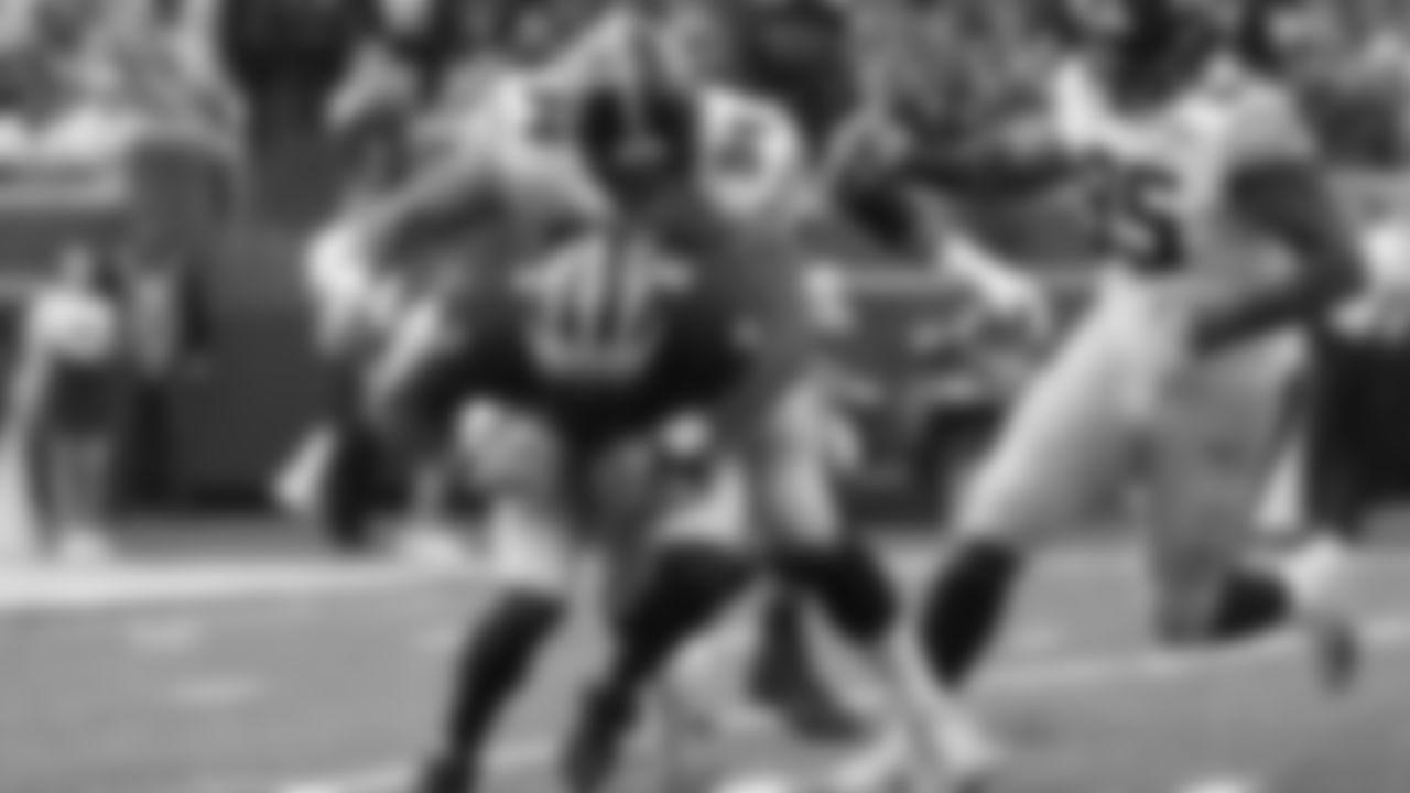 Iowa defensive end A.J. Epenesa (94) sacks Michigan quarterback Shea Patterson (2) during the first half of an NCAA college football game in Ann Arbor, Mich., Saturday, Oct. 5, 2019. (AP Photo/Paul Sancya)
