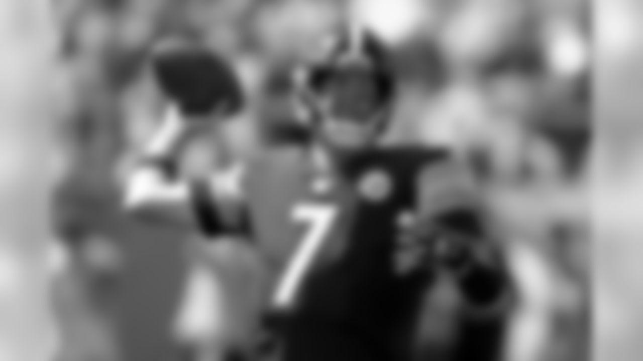 Pittsburgh Steelers QB Ben Roethlisberger  (AP Photo/Don Wright)
