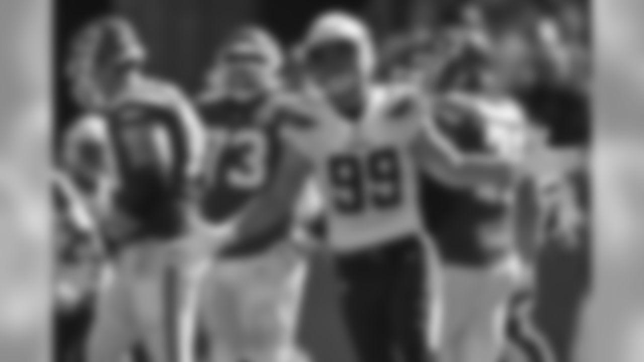 DE Joey BosaThe 2016 Defensive Rookie of the Year has 13 sacks in 16 career games.