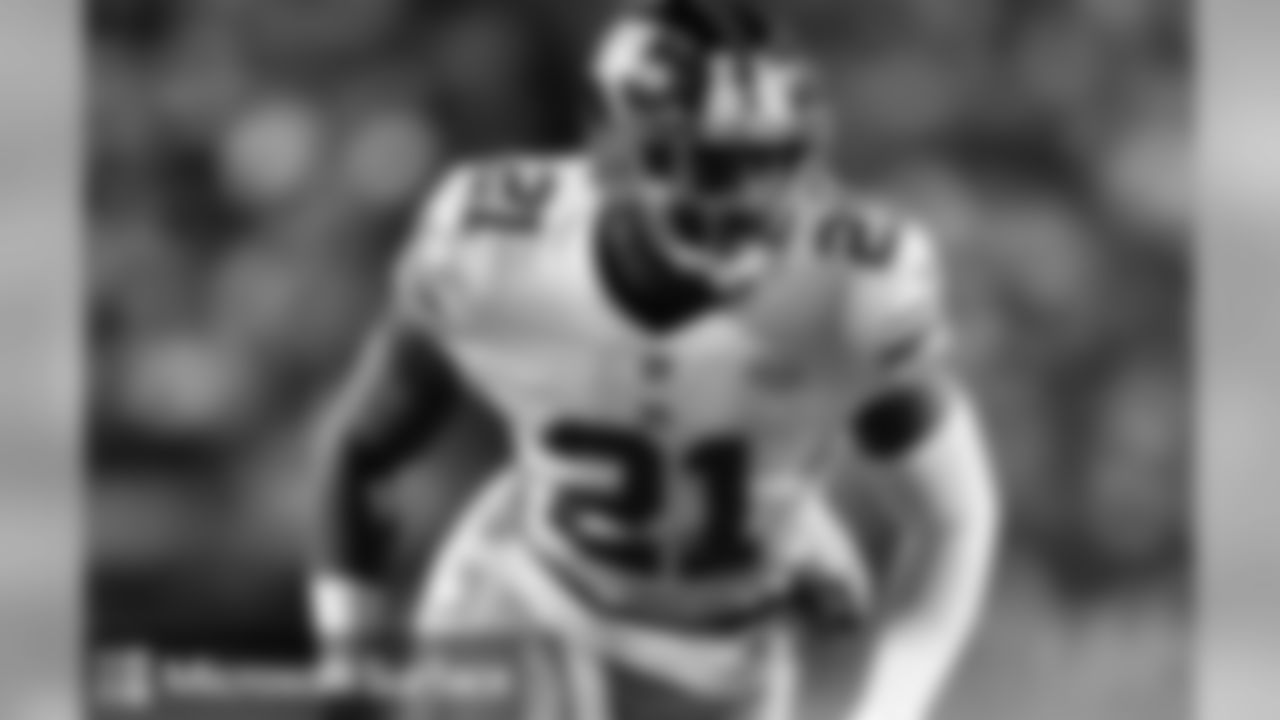 SAFETY LANDON COLLINSNo player in the NFL has more total tackles (28) in the last two weeks than Landon Collins, who now leads all safeties in the league for the season with 83.