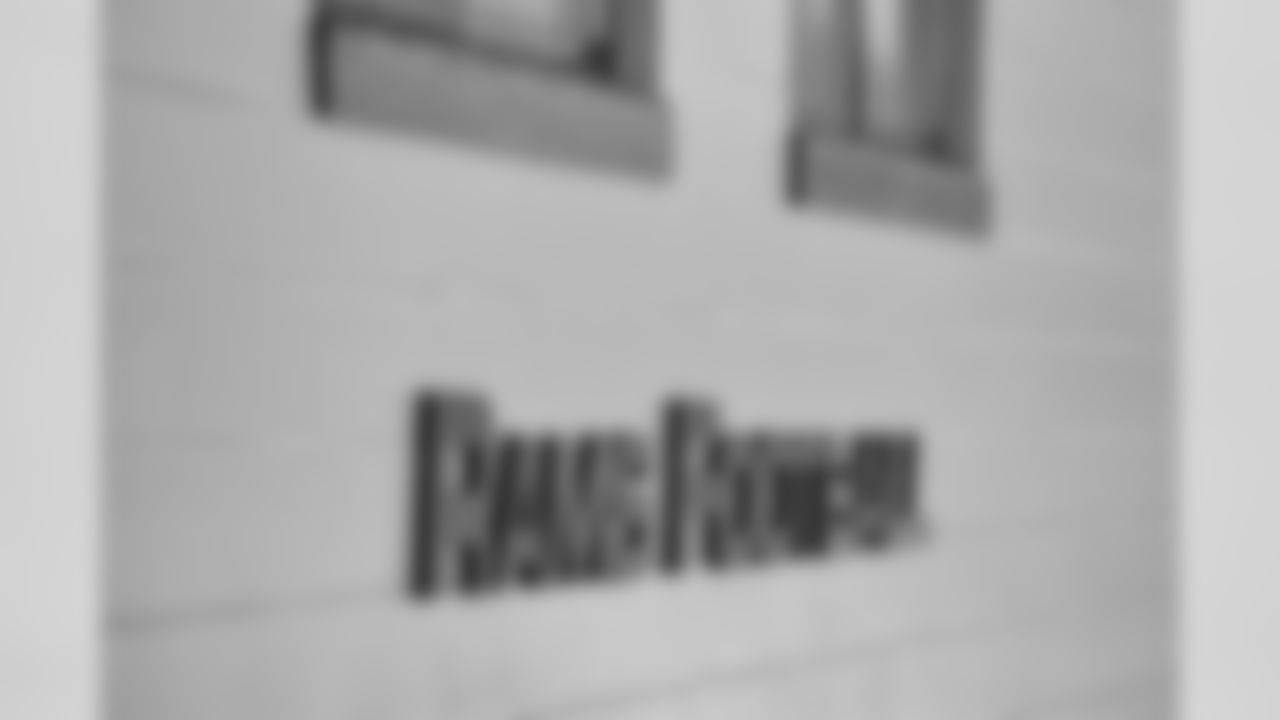 Jacksonville Jaguars Foundation and former Jaguars player Rashean Mathis present the Englewood High School football team with a refurbished locker room, Tuesday, September 24, 2019 in Jacksonville, Fla. (Rick Wilson/Jacksonville Jaguars)