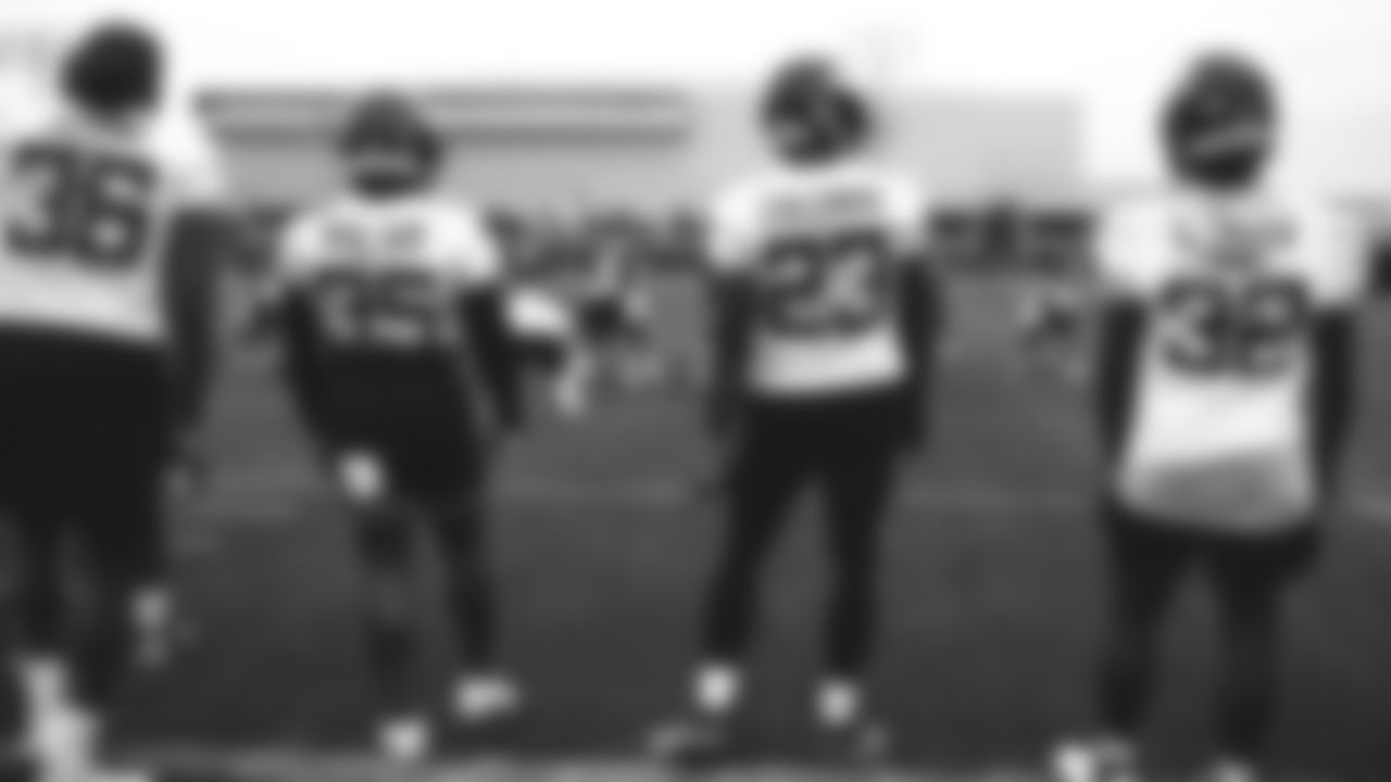 RB Josh Adams, RB Austin Walter, RB Tevin Coleman, RB Michael Carter