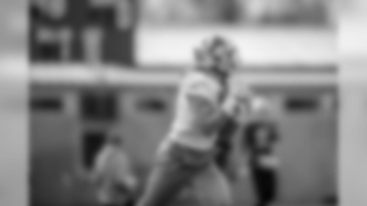 Detroit Lions wide receiver Marvin Jones Jr. (11) during practice at the Detroit Lions training facility Friday, Nov. 1, 2019 in Allen Park, Mich. (Detroit Lions via AP)