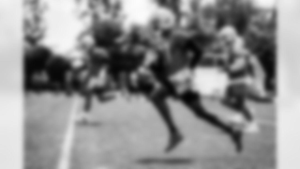 Detroit Lions wide receiver Quintez Cephus (87) during Lions OTAs at the Training Facility in Allen Park, MI. 2021 (Jeff Nguyen/Detroit Lions)