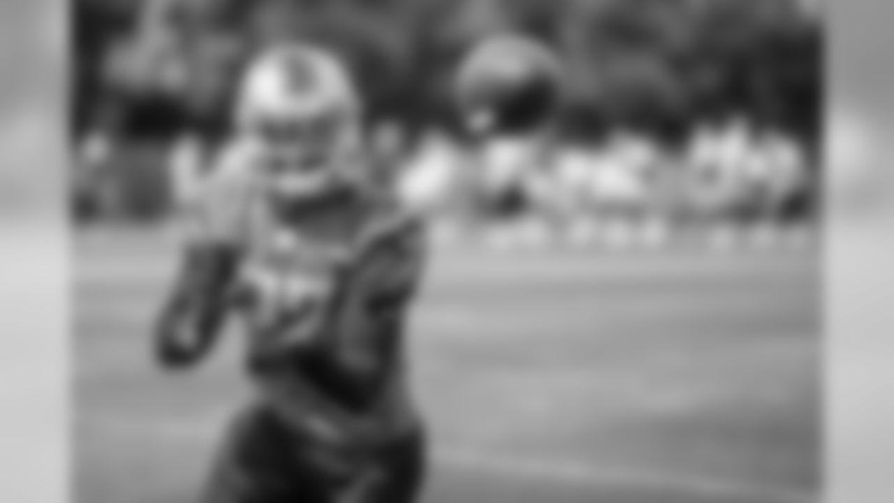 Detroit Lions cornerback Darius Slay (23) during practice at the Detroit Lions training facility Friday, Sept. 6, 2019 in Allen Park, Mich. (Detroit Lions via AP)