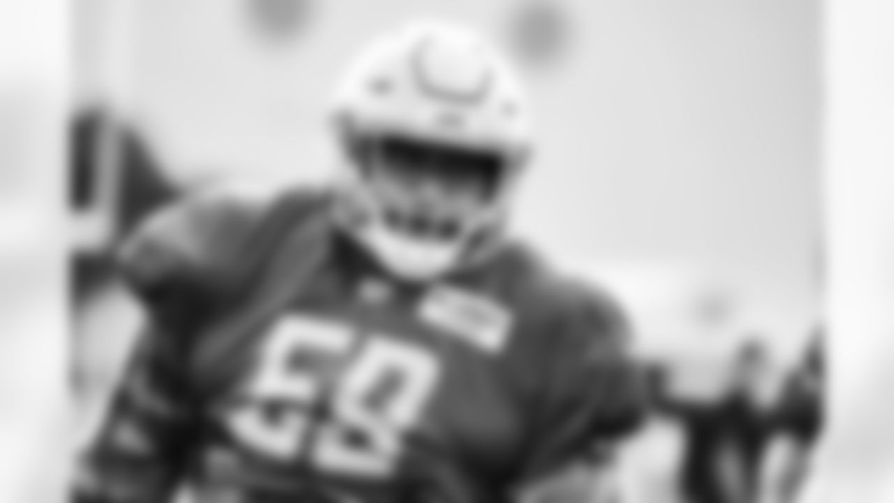 Detroit lions offensive tackle Penei Sewell (58) during a training camp practice at the Training Facility in Allen Park, MI on August 3rd, 2021. (Jeff Nguyen/Detroit Lions)