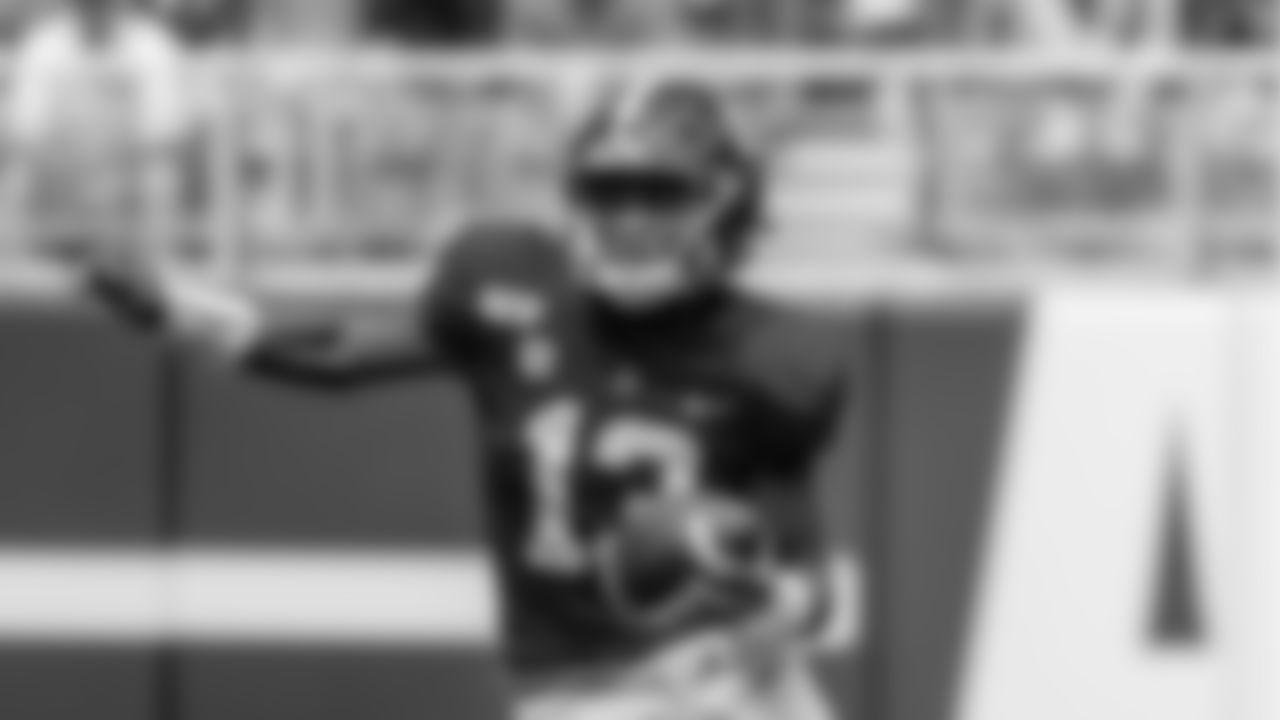 Alabama quarterback Tua Tagovailoa (13) during the second half of an NCAA college football game against Southern Miss, Saturday, Sept. 21, 2019, in Tuscaloosa, Ala. (AP Photo/Vasha Hunt)