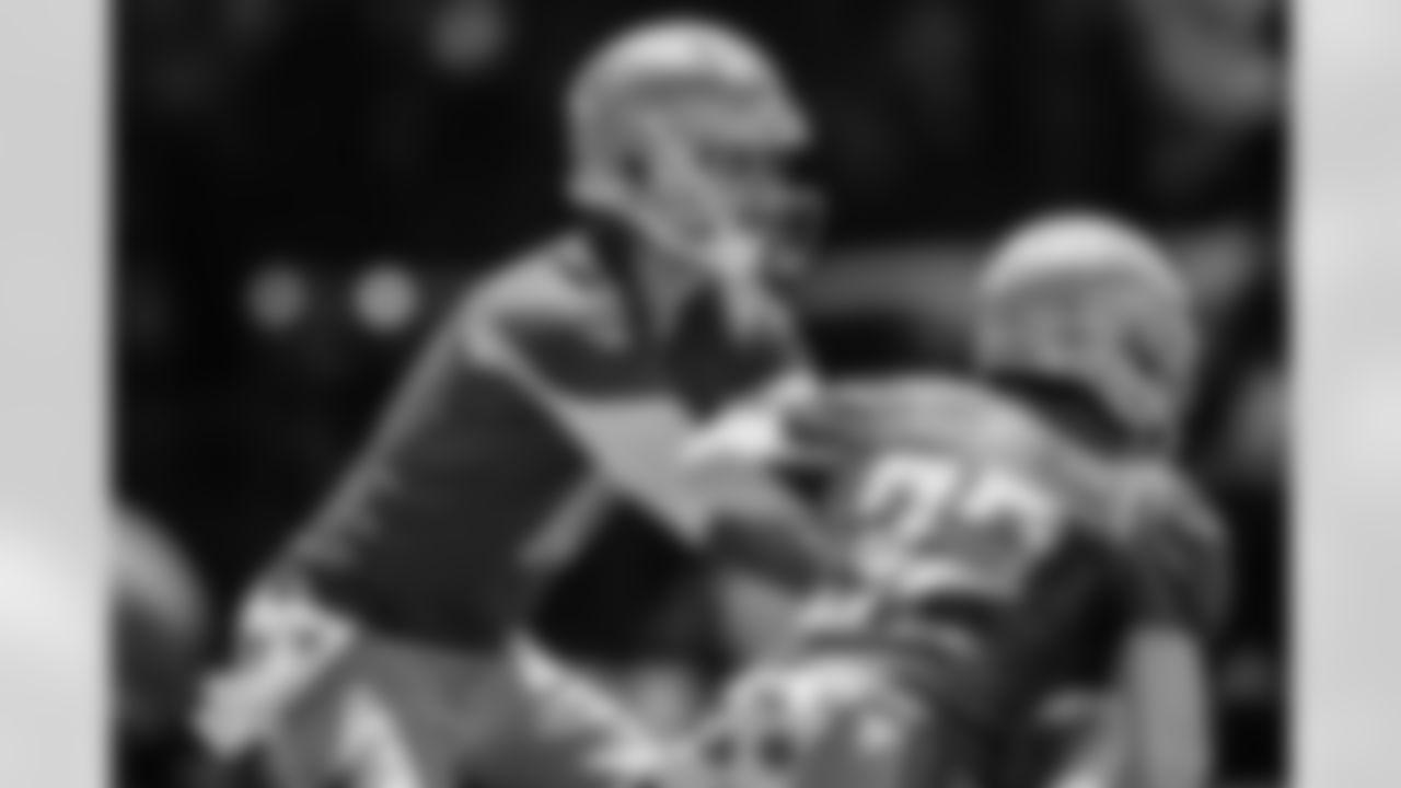 Detroit Lions quarterback Jared Goff (16) and Detroit Lions running back D'Andre Swift (32) during OTAs at Allen Park. (AP Photo)
