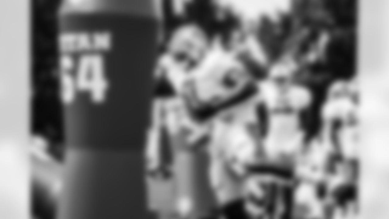 Detroit Lions defensive end Michael Brockers (91) during Lions practice at the Training Facility in Allen Park, MI on August 24, 2021. (Jeff Nguyen/Detroit Lions)