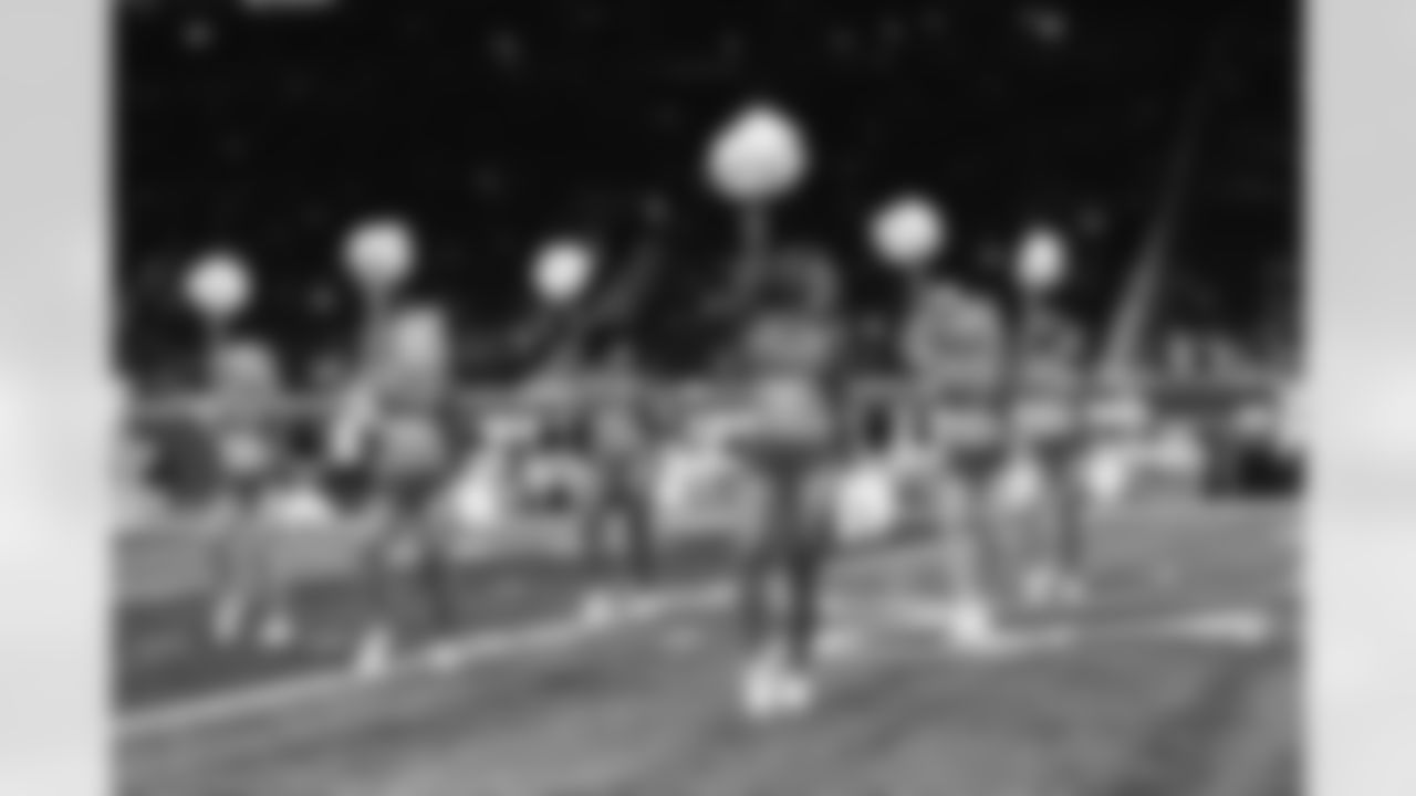 Cheerleaders during a NFL football game against the Baltimore Ravens on Sunday, September 26, 2021 in Detroit, MI. (Josh Mandujano/Detroit Lions).