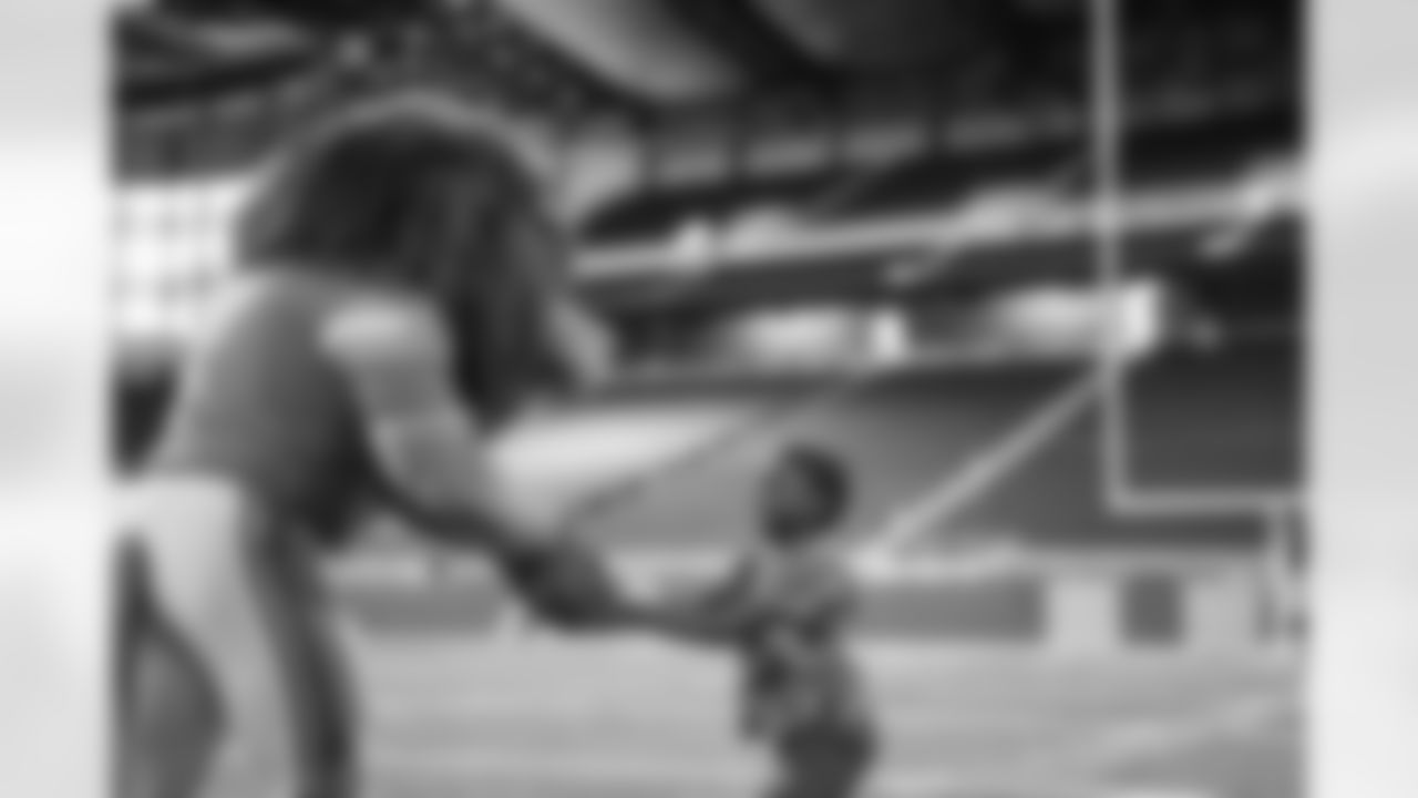 Empowerment Plan Family Day in Detroit, MI on September 3, 2021. (Jeff Nguyen/Detroit Lions)