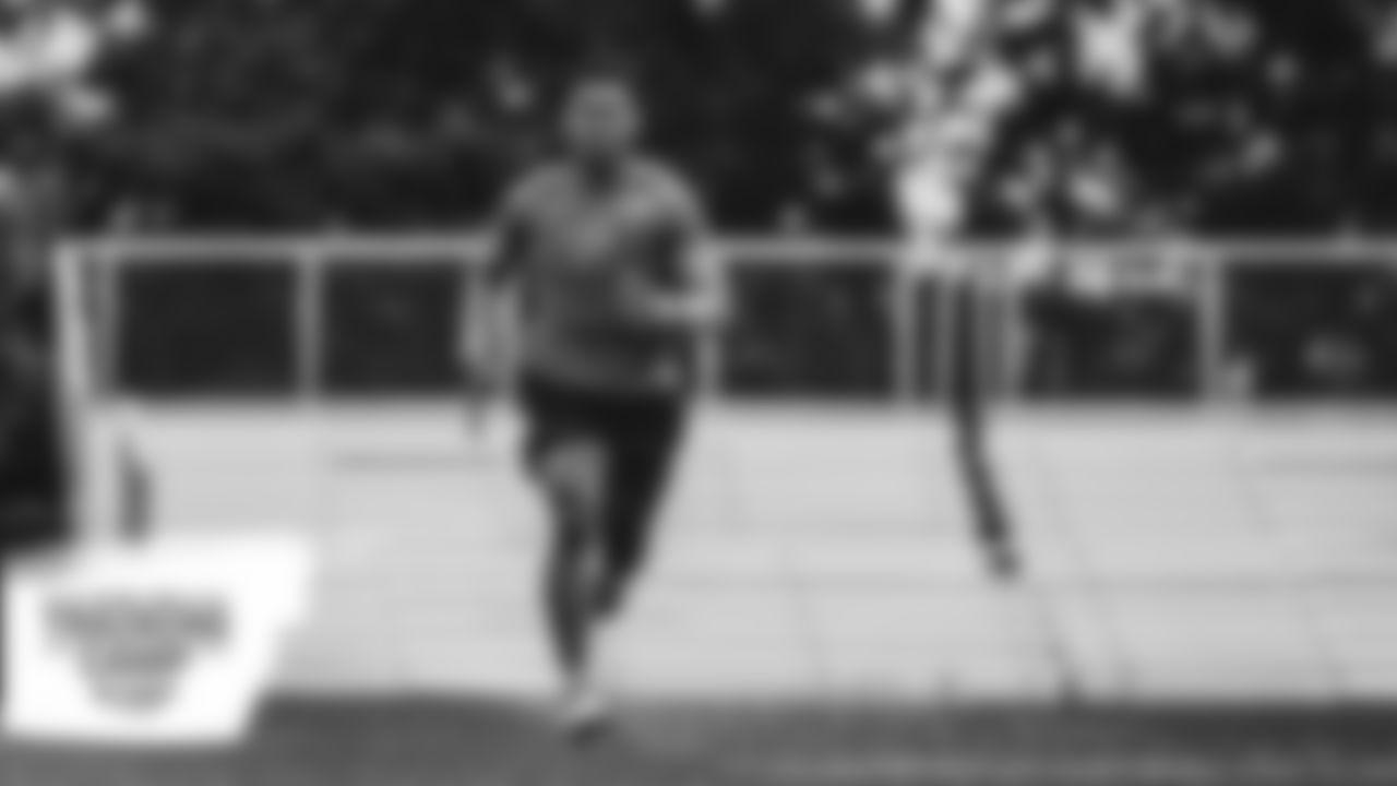 Workout at Allen Park Training Facility in Allen Park, MI on August 1st, 2020. (Jeff Nguyen/Detroit Lions)