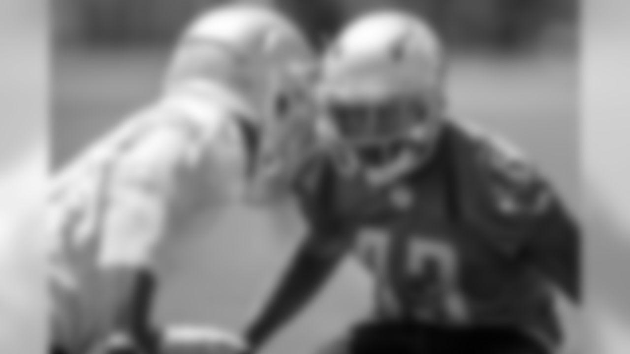 Detroit Lions cornerback Chris Jones (43) during an minicamp practice at the Detroit Lions training facility on Wednesday, June 6, 2018 in Allen Park, Mich. (Detroit Lions via AP)