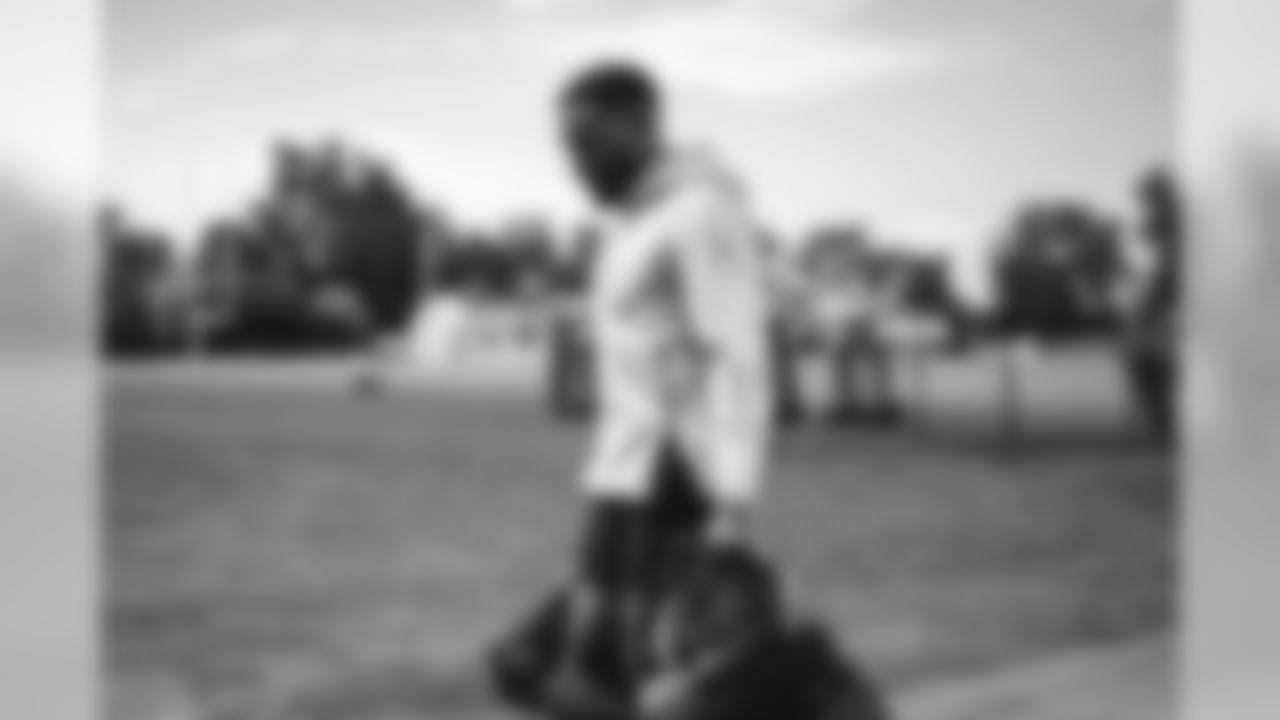 Detroit Lions wide receiver Marvin Hall (17) during workouts Allen Park Training Facility in Allen Park, MI on August 10, 2020. (Jeff Nguyen/Detroit Lions)