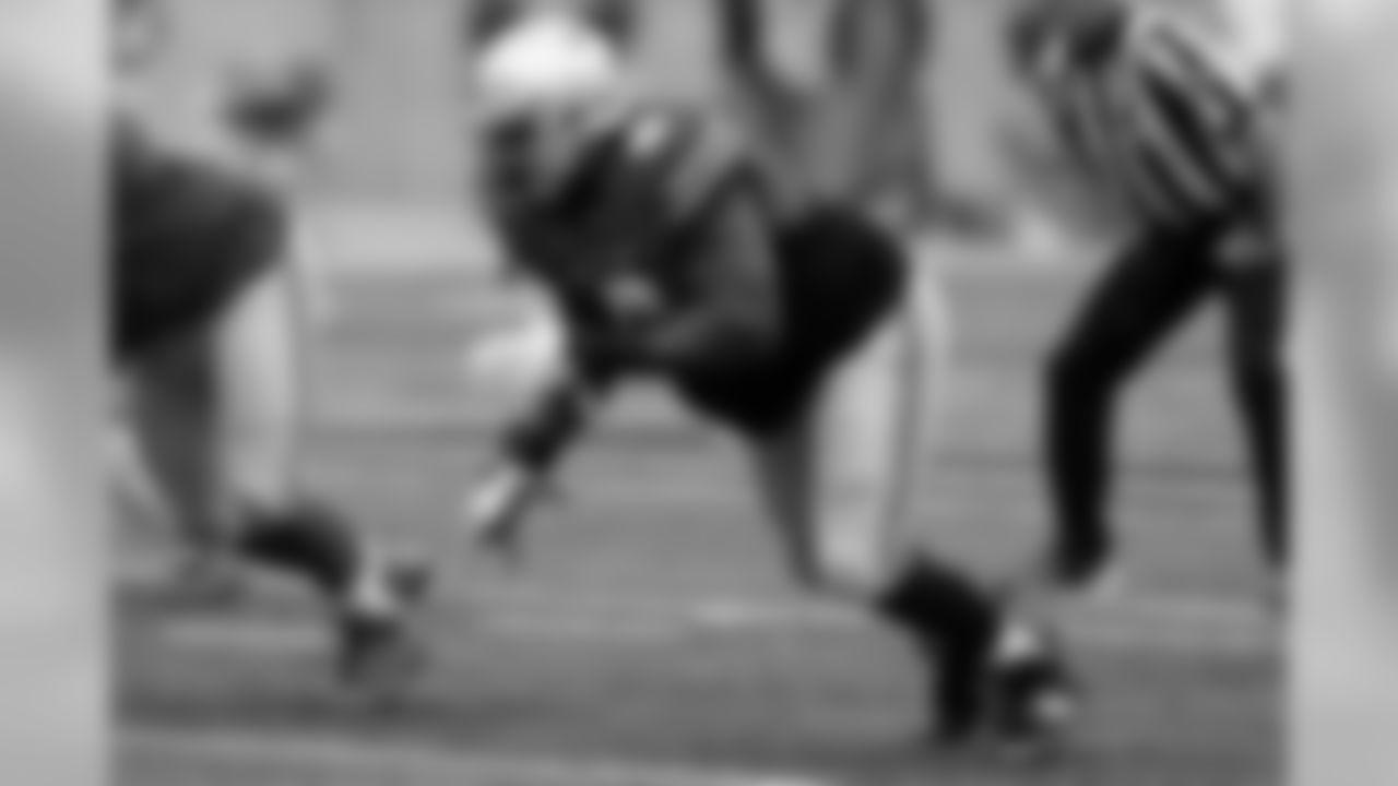 Ohio State defensive lineman Jashon Cornell plays in their NCAA college spring football game Saturday, April 14, 2018, in Columbus, Ohio. (AP Photo/Jay LaPrete)