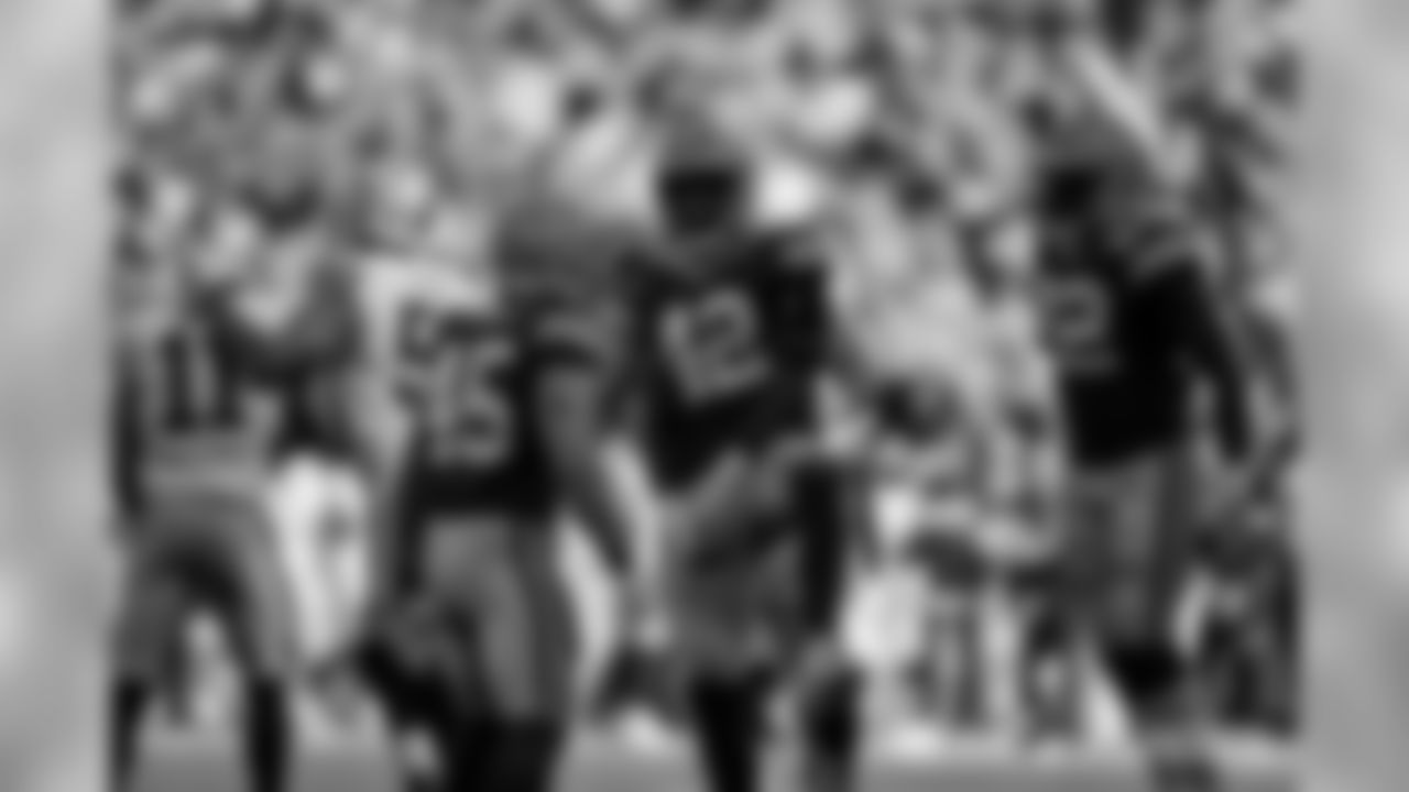 Packers LB Oren Burks during the 2019 season.