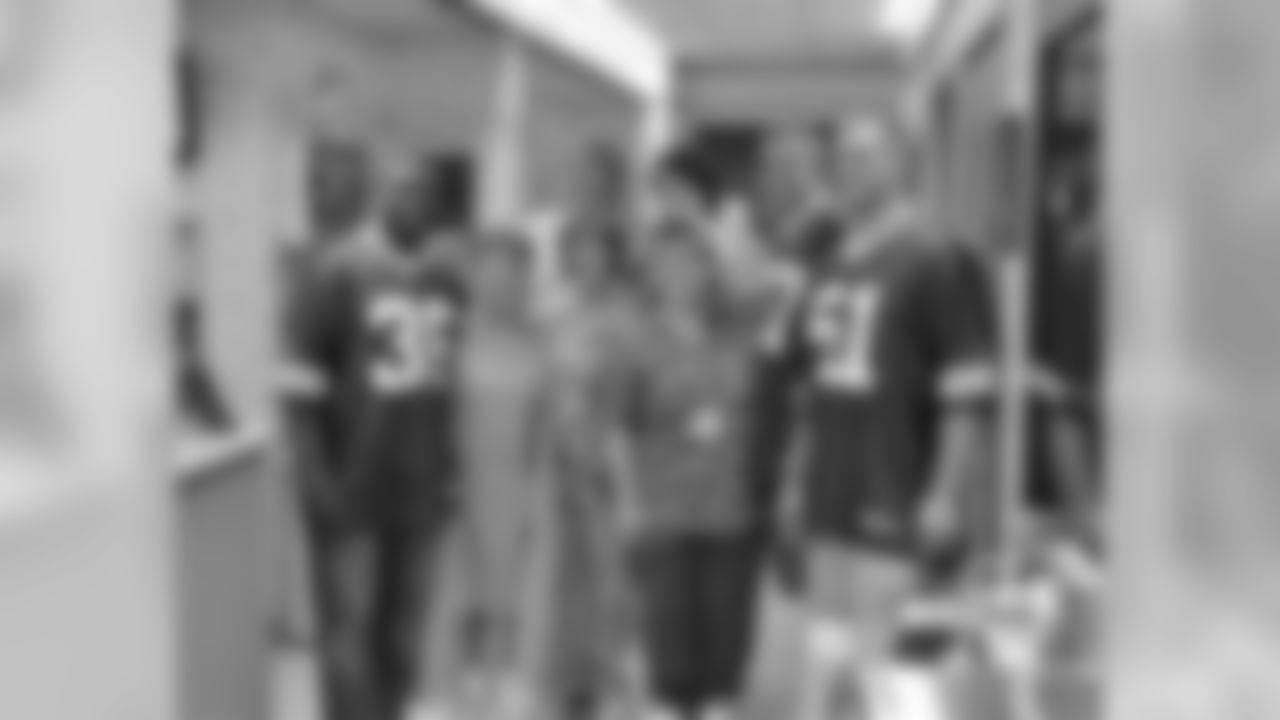 Nick Collins, Jordy Nelson and Brady Poppinga