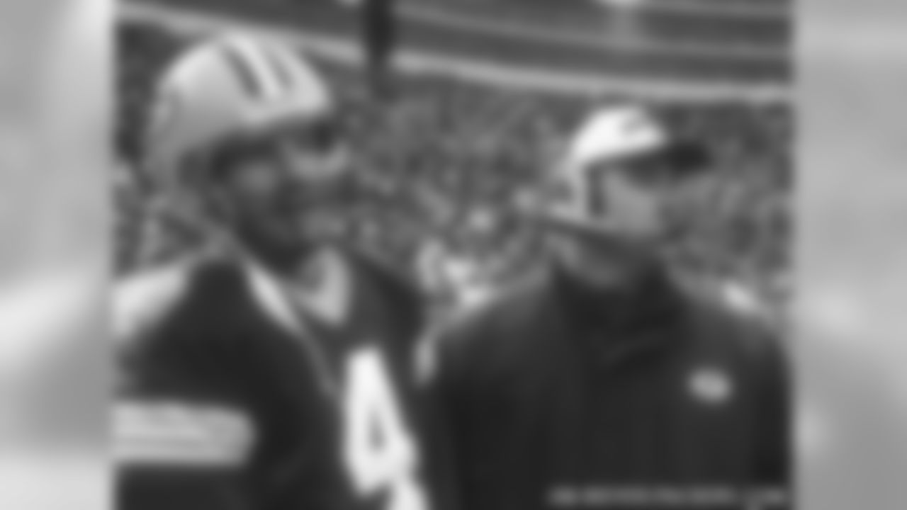 Brett Favre & Mike McCarthy