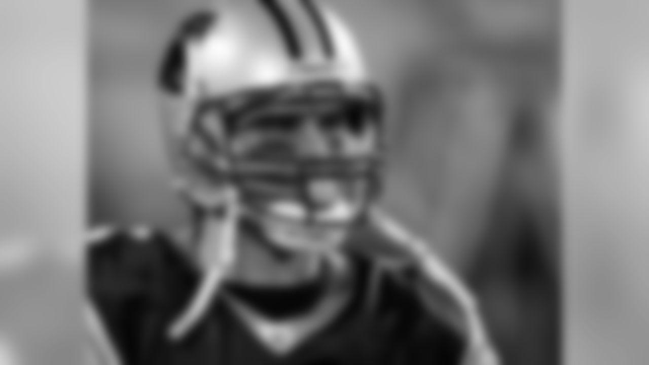 Carolina Panthers' Matt Moore is shown before an NFL football game between the Carolina Panthers against the Minnesota Vikings in Charlotte, N.C., Sunday, Dec. 20, 2009. (AP Photo/Chuck Burton)