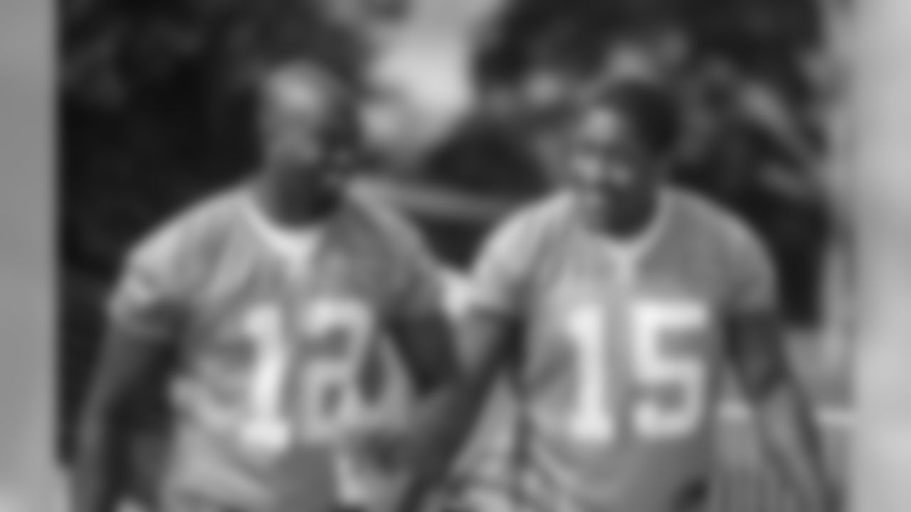 WRs Tavarres King and Marvin McNutt