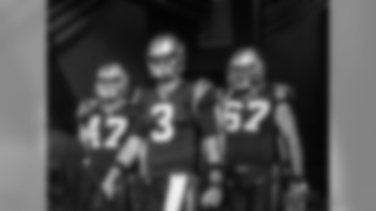 FB Richie Brockel, QB Derek Anderson and C Ryan Kalil