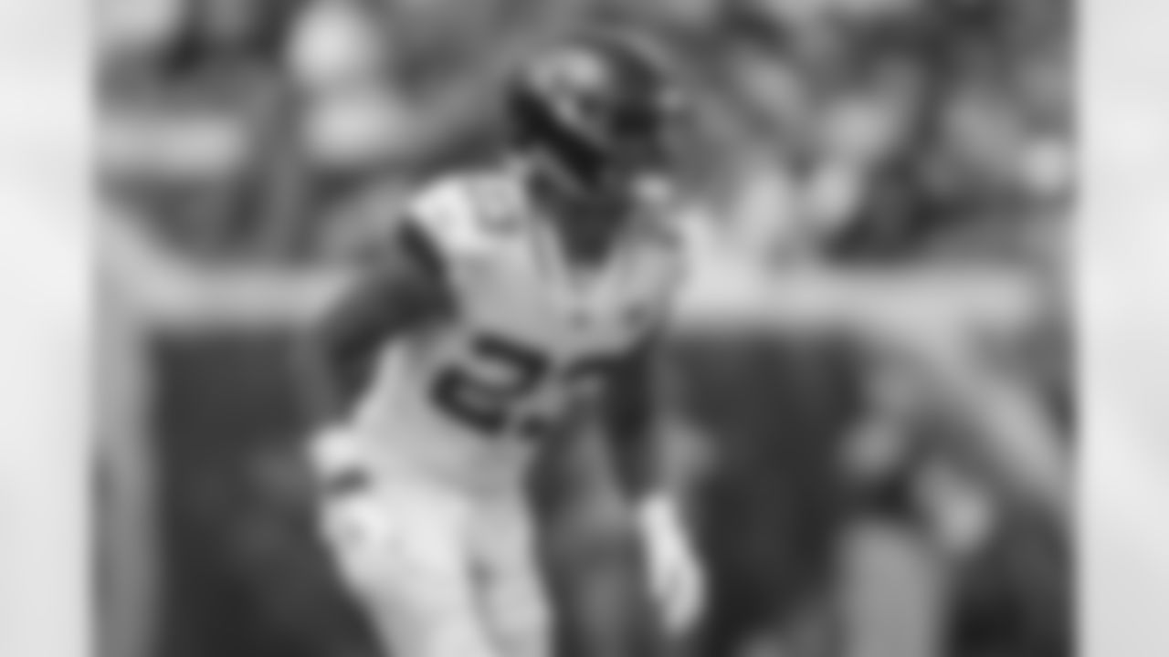 Jacksonville Jaguars cornerback C.J. Henderson (23) during an NFL football game against the Denver Broncos, Sunday, Sept. 19, 2021, in Jacksonville, Fla. (AP Photo/Gary McCullough)