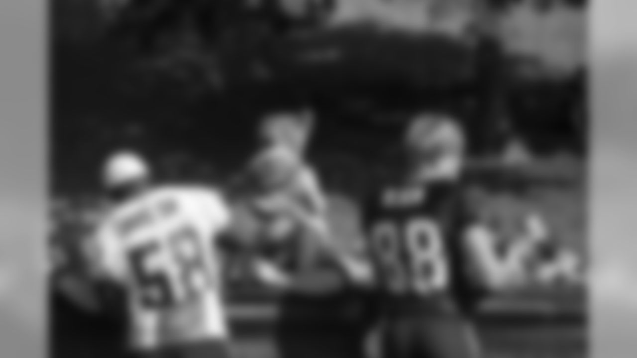LB Thomas Davis, Sr. and TE Greg Olsen
