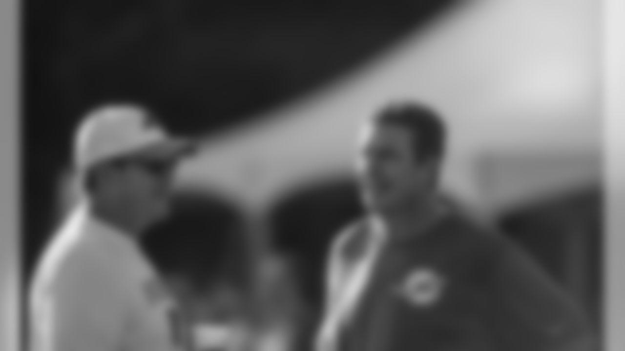 Head Coach Ron Rivera and Dan Marino