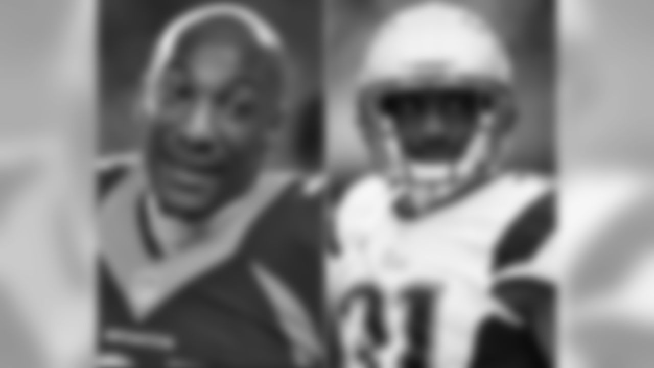 Broncos CB Aqib Talib was acquired by the Patriots from Tampa Bay in a trade on Nov. 1, 2012. He started 13 games in his first and only full season with the club in 2013, compiling 41 tackles, four interceptions, 14 passes defensed, one forced fumble and one fumble recovery en route to earning his first Pro Bowl nod.