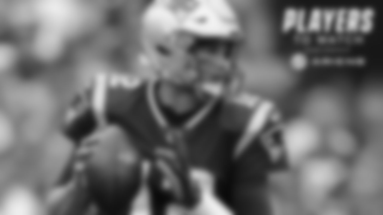 Tom Brady, QB – New England's offense and passing game are in the unfamiliar position of being questioned early in the season. Brady has been on and off at times and must find a way to muster up a more consistent passing attack that stays on the field and puts up more points.