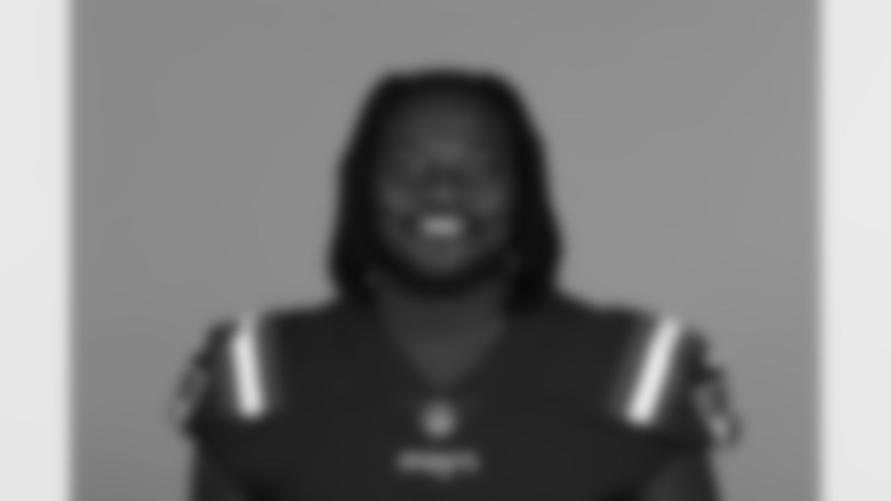 This is a 2021 photo of Montravius Adams of the New England Patriots NFL football team. This image reflects the Patriots active roster as of June 14, 2021 when this image was taken. (AP Photo)