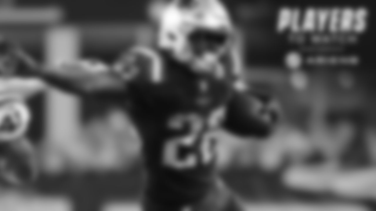 Sony Michel – New England's first-round rookie running back is coming off a season-high 133 yards on 21 carries (6.3 avg.) in the win over the Jets. Some of the Patriots best offensive performances have come in Michel's best games this season, but his job will be tougher against a Minnesota D that allows just 3.7 yards a carry.