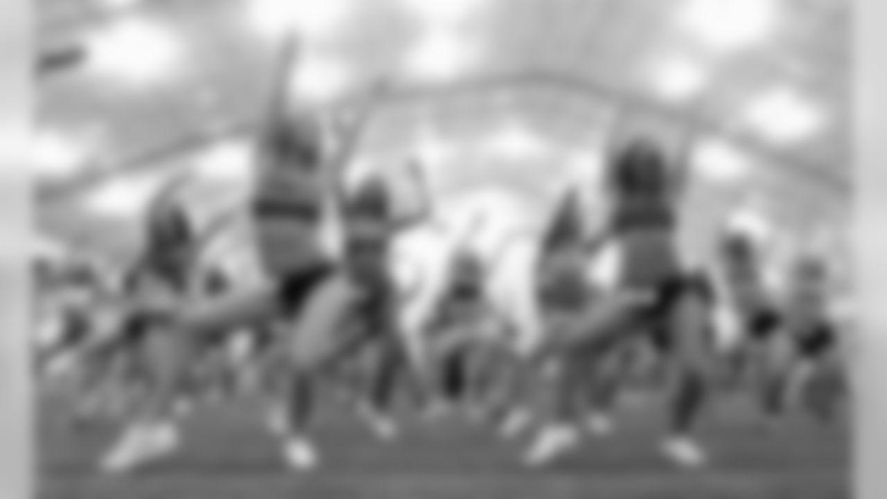 2012 Patriots Cheerleaders Auditions